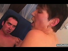 Granny likes a rough fuck