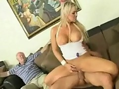 Abbey brooks rides hard cock