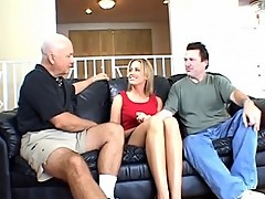 Leggy Blonde Wife Banged