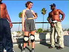 Sporty Slut Railed By Thugs