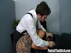 Evas Boss Need some Anger Management - PunishThatBitch.com