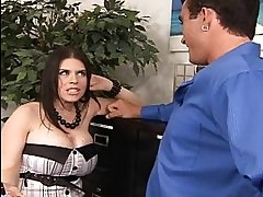 Massive tits business lady Daphne fuckin her clerk