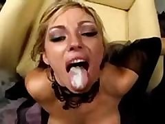 Clips Of All These Babes Loving To Have Cum In Their Mouth