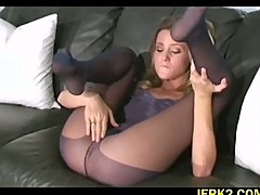 Crotch play with Carli Banks
