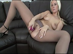 Krystal - hosed at home