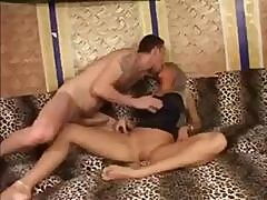 Hot Blonde Brigitta Bulgari Strips, Eats Cock And Gets Pussy Drilled