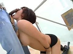 Tory Lane the slut in stockings fucked by BBC