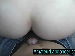 Lapdance by czech amateur student Radka
