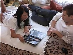 See how this big muscular stranger