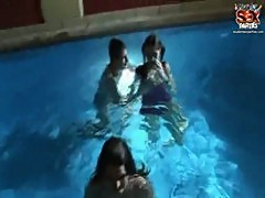 Students group orgy