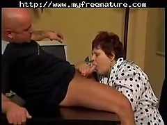 Mature bbw sucking and fucking