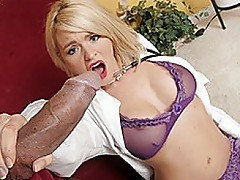Blond Doctor Krissy Lynn Wants Black Rod