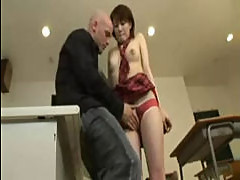 Teachger banged Korean student hard