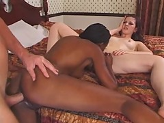 Caroline Pierce-Interracial 3some