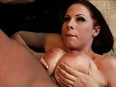 Nasty Gianna Michaels gets her busty tits fucked and her wet...