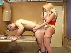 Michele tranny pantyhose sex video