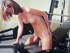 I cum to workout 2