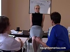 My first sex teacher - mrs.adrianna nicole