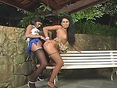 AlineFontanelly furious tranny action
