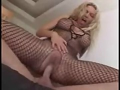 Anna Nova incredible sex in a body stocking