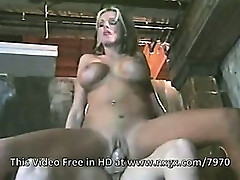 Briana Banks moans of pleasure. Ass cumshot.