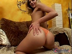 Brianna Love a gorgeous blonde sucking