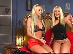 Brittney Skye Vs Blonde Slut