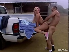 Brittney skye on a pick up