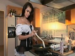 Daisy marie is a horny maid