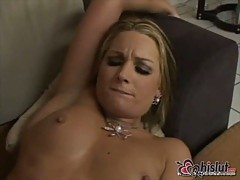 Flower Tucci has butt hole nailed