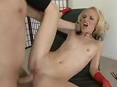 Skinny Chick With Small Tits, Faye Runaway, Is Ass Fucked