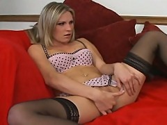 Harmony Rose sex in stockings