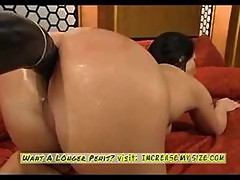 Katja Kassin's Big Ass Fucked by Machine