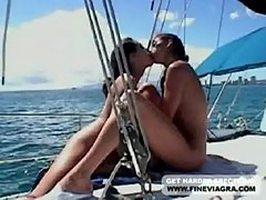 Jenna haze and kaylynn on a yacht