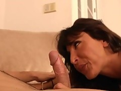 Busty milf lezley zen enjoying a nice cock after the gym