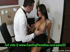 Mackenzee pierce, brunette blowjobs at work