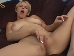 Missy Monroe Masturbating while watching porn