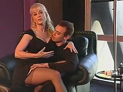 Tasty babe Nina Hartley getting fucked
