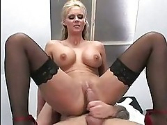 Horny blonde Phoenix Marie gets nicely fucked on her twat fr...