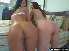 Bb krystal jordan & rebecca linares threesome hot fuck
