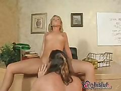 Sasha Knox Uses Her Mouth And Ass To Get This Hard Cock Off