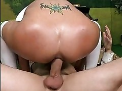 Huge rack pornstar Trina Michaels anal pounded