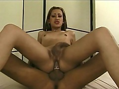 Sexy Shemale Slut do a 69 with Hot Stud