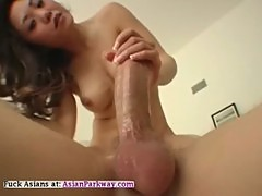 Hot Asian 69 Big Cock