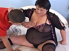 Big phat mama riding that hard cock