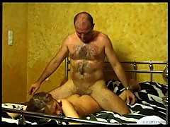 Sexy Amateur Teen Gets Anally Fucked By An Old Man