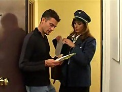 Hot Police Girl Nailed In Ass