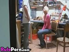 German Blonde Creampie