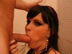 German Deepthroat N Facial