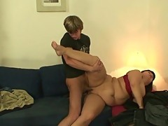 He picks up and nails old huge pussy